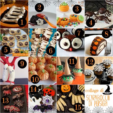 Men di halloween idee dolci paperblog - Idee menu halloween ...