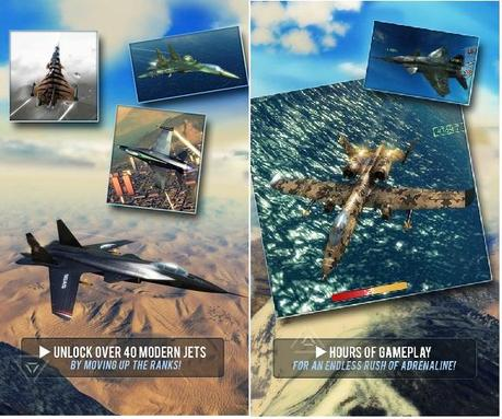 Sky Gamblers Air Screens Sky Gamblers: Air Supremacy [Full] v 1.0.1 APK: un bellissimo simulatore di volo per Android
