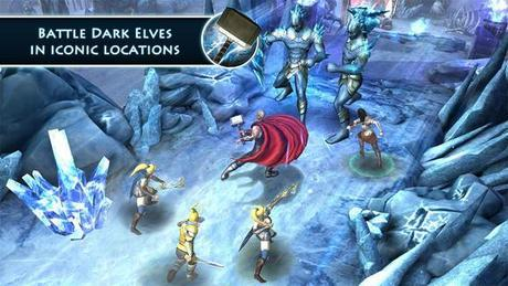 Thor: The Dark World   The Official Game disponibile per #iPhone e #iPad