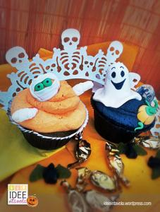 Halloween - muffin al cioccolato