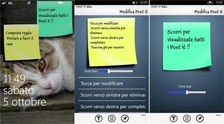 POST IT WALL: L'APP PER CREARE POST-IT SU WINDOWS PHONE