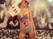 """Celebrities copiano Miley Cyrus Halloween: anche """"dog Cyrus"""""""