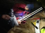 Intervento Soccorso Alpino Speleologico Umbria cercatore funghi Cecalocco (TR)