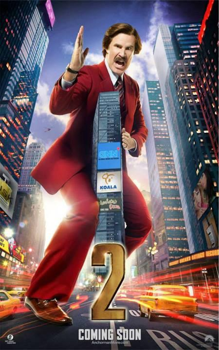 will ferrell anchorman 2