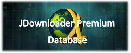jdownloader+Logo Account Premium E jDownloader Database.script Premium 6 Novembre 2013 [06/11/2013]