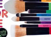 Neve Cosmetics, Glossy Artist Nuovi Pennelli Preview