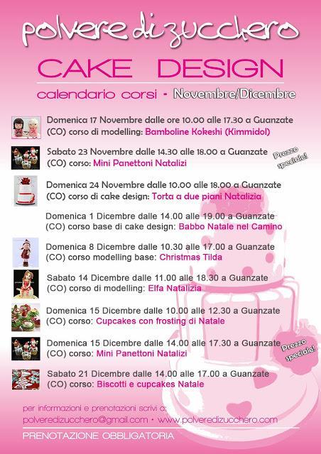Corsi Gratuiti Di Cake Design Milano : Corsi di cake design natalizi: calendario novembre ...