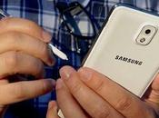 Samsung Galaxy Note Android KitKat sotto Test