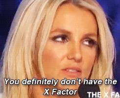 XF7 Live Puntata 3 - Britney Gif 6
