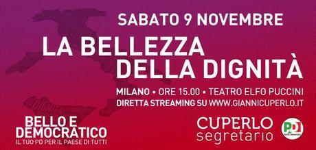 Gianni Cuperlo a Milano