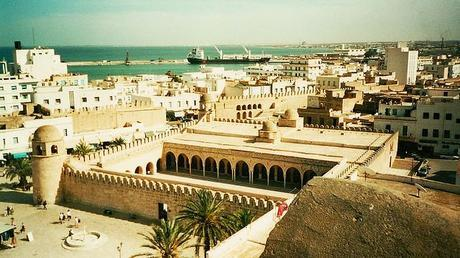 Vista della moschea dal Ribat di Sousse - Tunisia