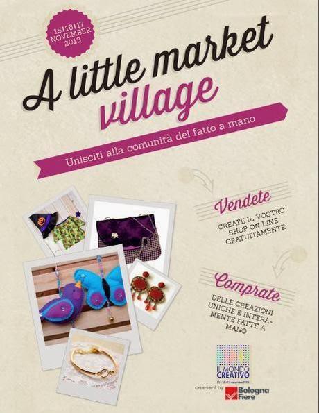 a little market village siete tutti invitati paperblog. Black Bedroom Furniture Sets. Home Design Ideas