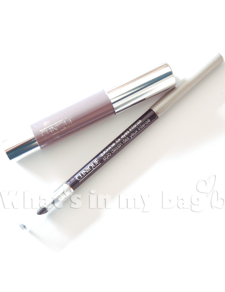 A close up on make up n°197: Clinique, Chubby Stick for eyes Lavish Lilac & Quickliner for eyes intense Intense Plum