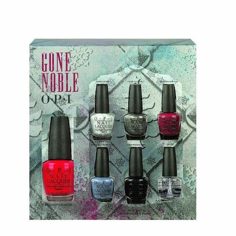 Preview HOLIDAY: Cofanetto Gone Noble by OPI