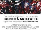 """""""Identità artefatte"""", mostra personale Dario Ballantini alla Pisacane arte"""
