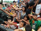 Chiesa cattolica prima linea aiutare Filippine