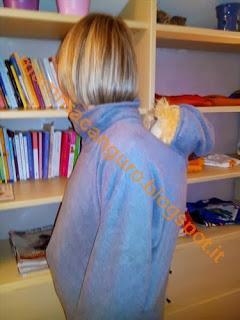 Portare i bambini in inverno tutorial mantella poncho - Portare bambini ...