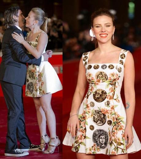 Scarlett Johansson al festival di Roma