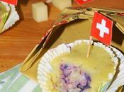 Sformatini patate ripieno viola filante