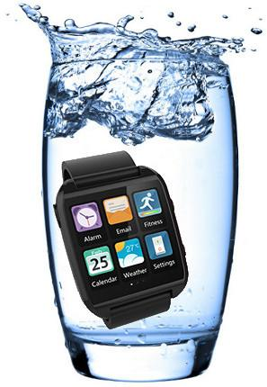 gowatch water Ekoore Go Watch, il nuovo SmartWatch con Android 4.3