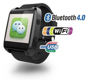 gowatch wechat Ekoore Go Watch, il nuovo SmartWatch con Android 4.3