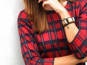 Outfit: grunge tartan