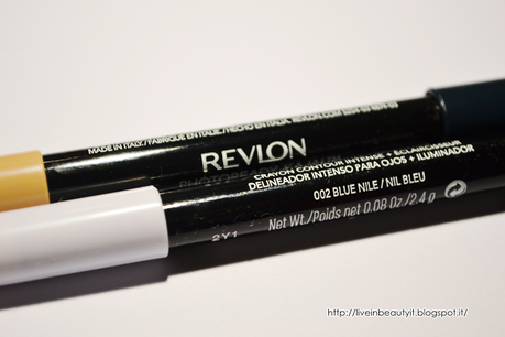 Revlon, Photoready Kajal Intense Eye Liner + Brightener - Review and swatches