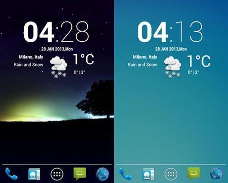 cLock weather widget Ecco i 10 migliori widget gratuiti per Android