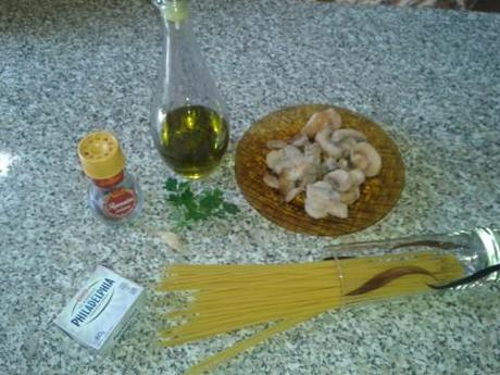 Pasta funghi e philadelphia ingredienti