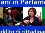Giovani Parlamento: reddito cittadinanza