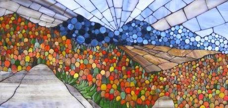 Superfici vibranti e patterns geometrici nei mosaici di for Stampe paesaggi naturali