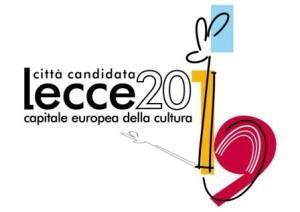 Il logo per la candidatura della città di Lecce (tafter.it)