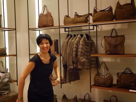 Borbonese Parma, fashion blogger, Silvia Diemmi, Banana e cioccolato
