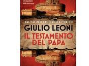 """Prossima Uscita testamento Papa"""" Giulio Leoni"""