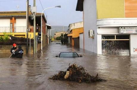 Emergenza Sardegna - Al via la macchina della solidarietà