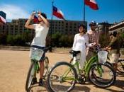 bicicletta Santiago Cile