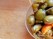 Olive schiacciate, anche conservare sottolio