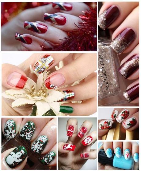 Nail art Natale: tante idee per una manicure natalizia - Paperblog
