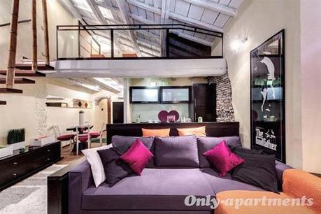 I migliori appartamenti di design a roma paperblog for Appartamenti design
