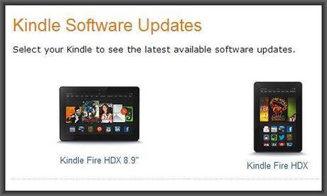 Kindle Fire OS 3.1