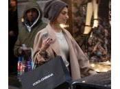 Giorgia Surina, shopping senza Nicolas Vaporidis (foto)