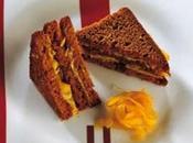 Sandwich composta d'arancia.