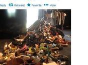 David Victoria Beckham svutotano armadi: scarpe abiti Filippine