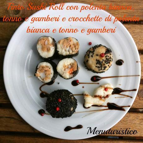 Polenta un accenno di storia e il finto sushi di polenta for Piani di casa di log di storia singola