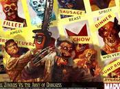 spettacolare made mette confronto L'Armata delle Tenebre Marvel Zombie
