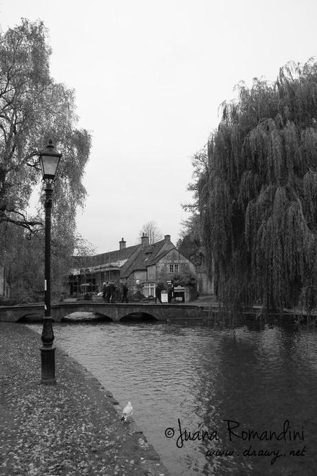 Bourton on the Water, vista del Museum of Transports