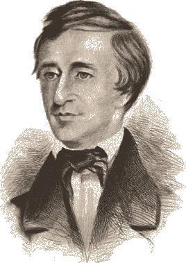 Portrait of Thoreau