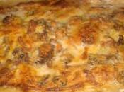 Cose Primo: Paccheri forno ragù mortadella crema zucca funghi pancetta