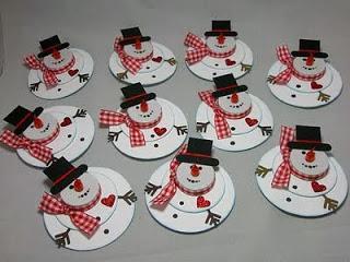 Lavoretti Natale Pinterest.Aspettando Natale Snow Man Di Carta Paperblog