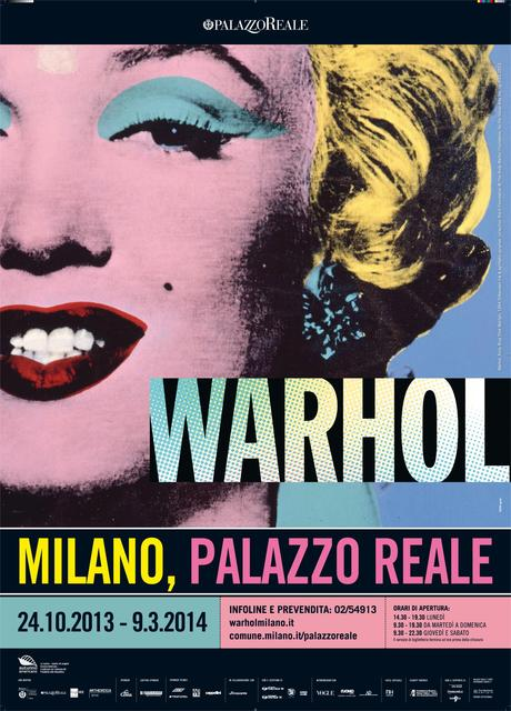Milano mostre warhol a palazzo reale - Mostre design milano ...